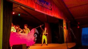 Willy Wonka performance