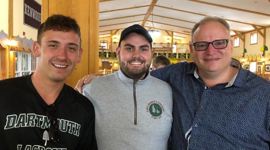 Three Kenwood staff smiling