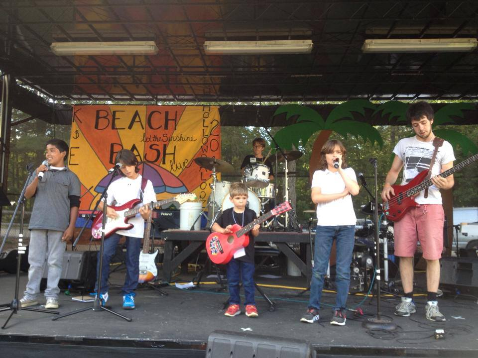 "Ethan Berman's band ""Beat The Heat"""
