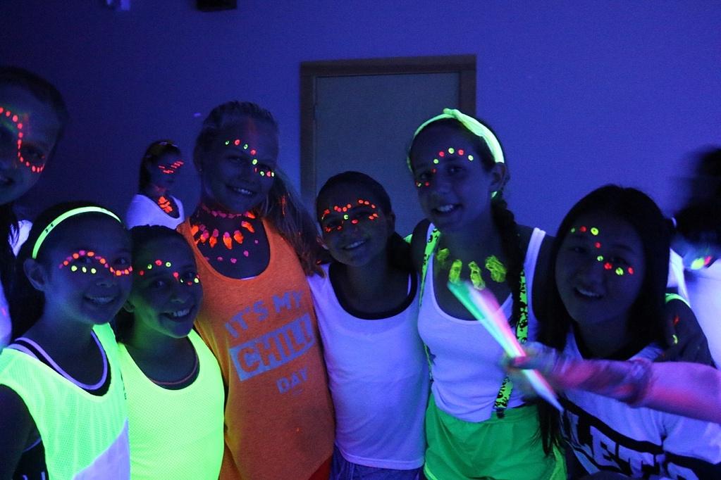 summer camp evening activities