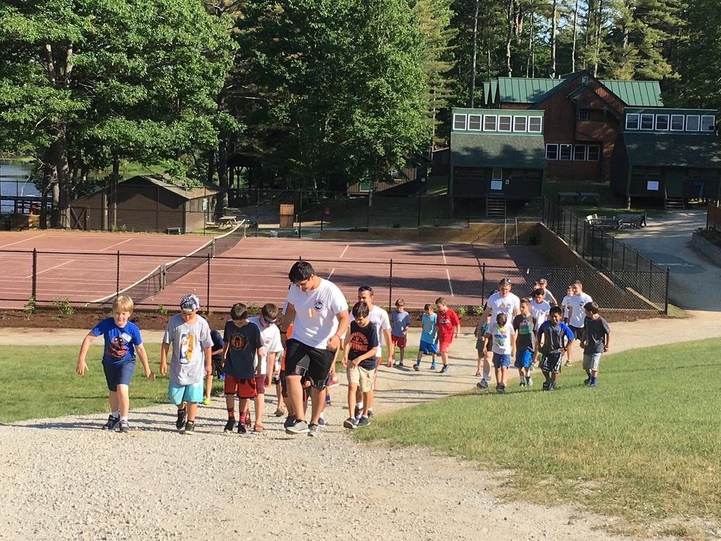 an amazing first day of camp
