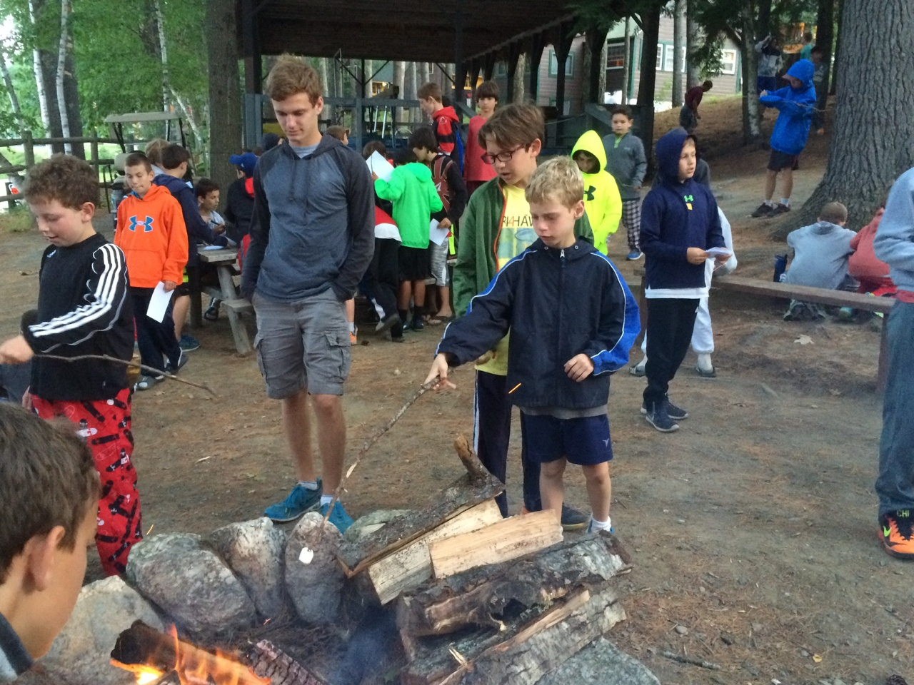 brother-sister overnight camp