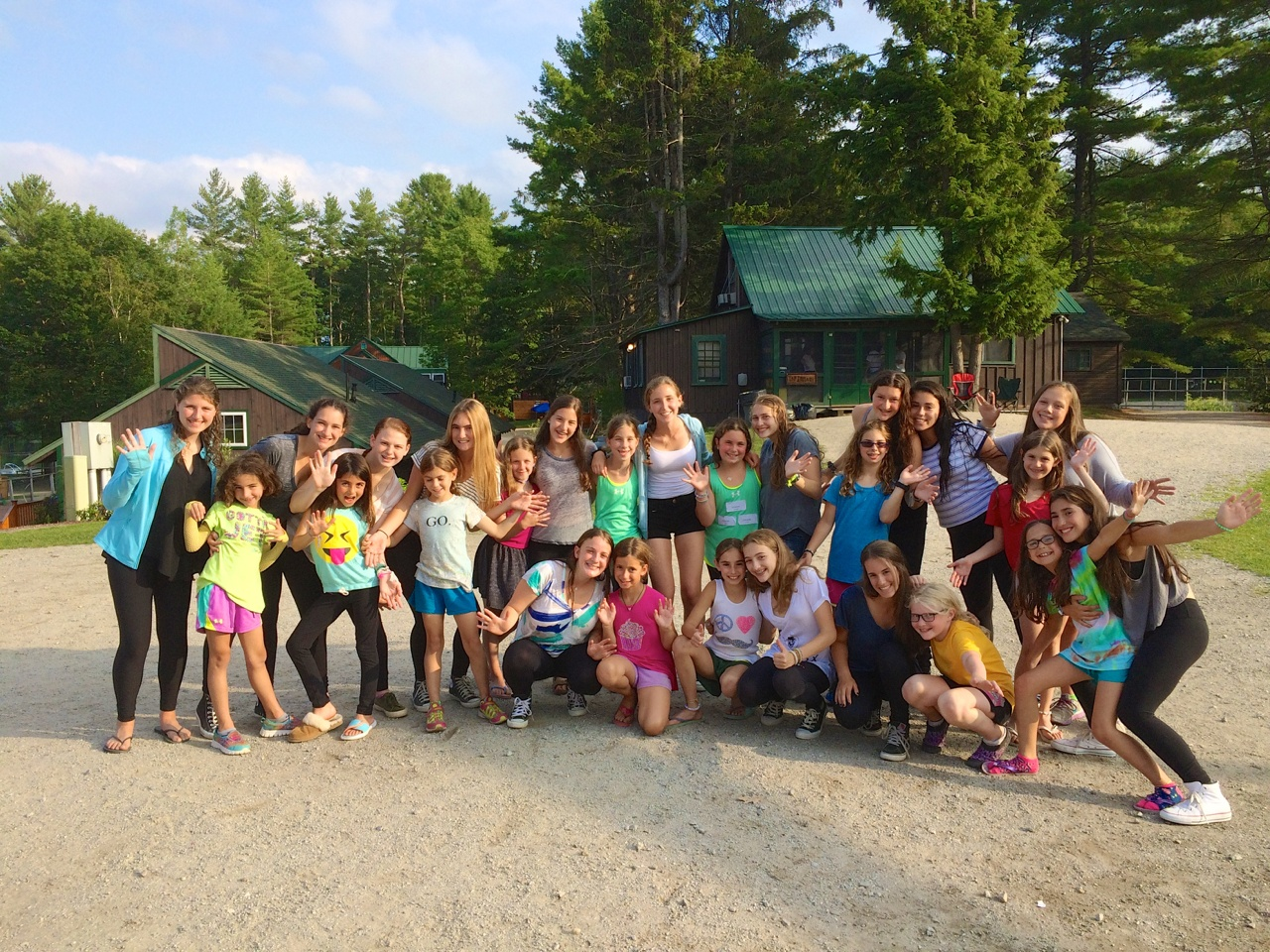summer camp visiting day