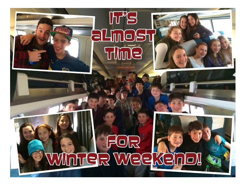 camp winter weekend