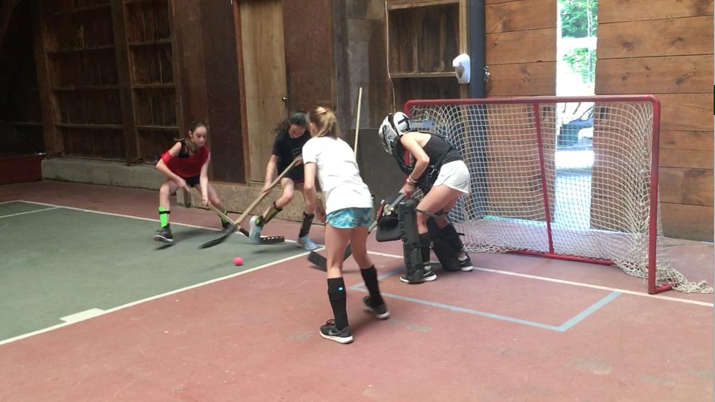 summer camp street hockey