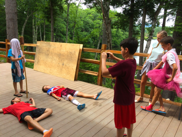 creativity and the arts at camp