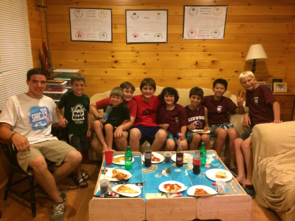 Summer Camp For A Child With Food Allergies