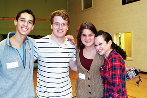 counselor friends at our summer camp reunion